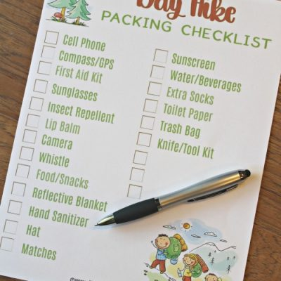Hiking Checklist for Day Hikes