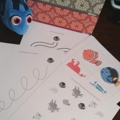 Finding Dory Inspired Printable Pack