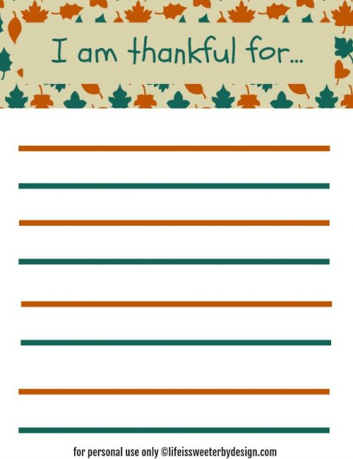 This thankfulness printable for kids will help kids learn gratitude.