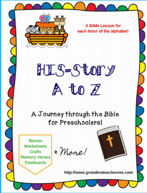 A tp Z Bible Lessons for Preschoolers