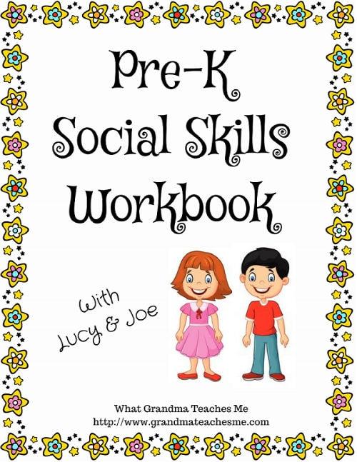 Pre-K Social Skills Workbook