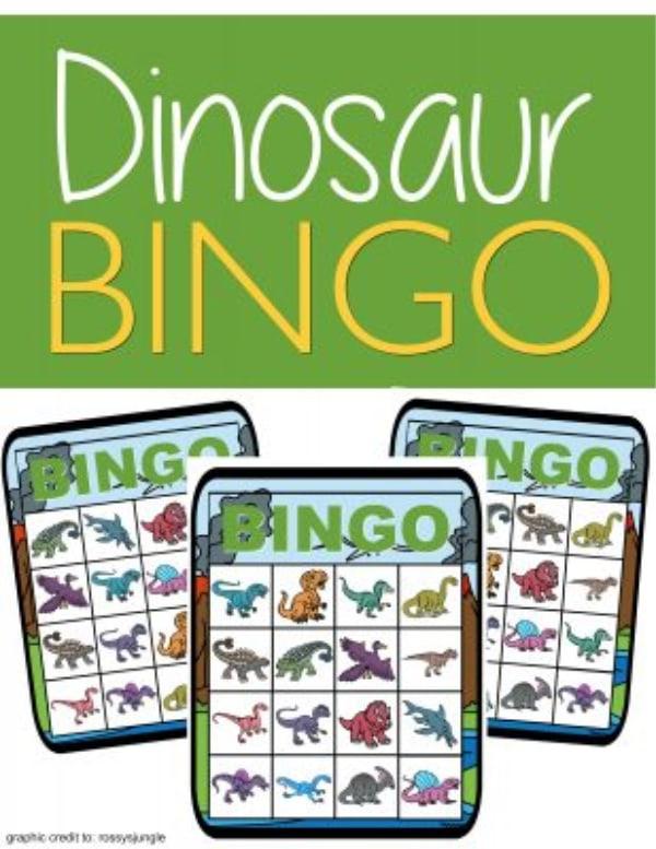 Toddler bingo free printable