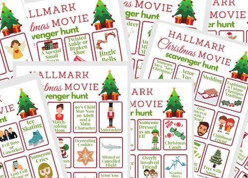 Hallmark Christmas Movie Scavenger Hunt