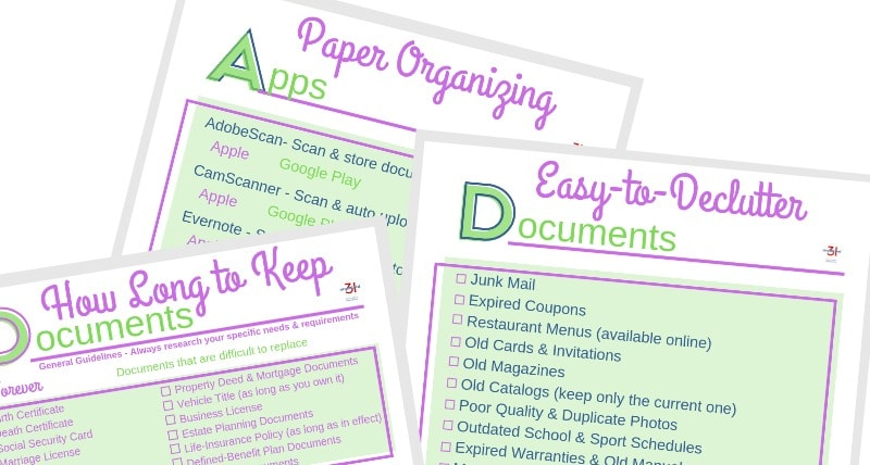 How-Long-to-Keep-Documents-Checklist