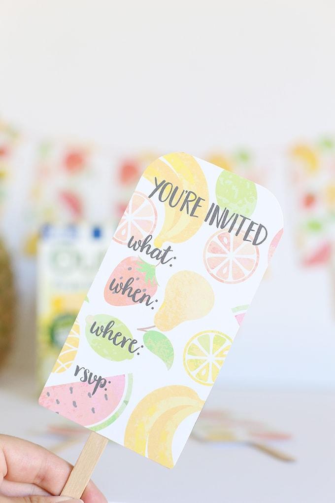 Banner & Invitations Printables