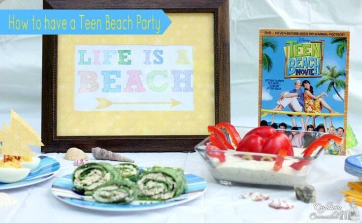 Teen Beach Party this Summer