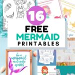 free mermaid printables