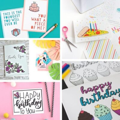 free printable birthday cards