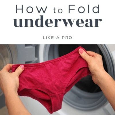 how to fold underwear cheat sheet