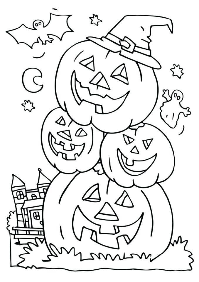 Free Printable Halloween Coloring Pages - Find a Free ...