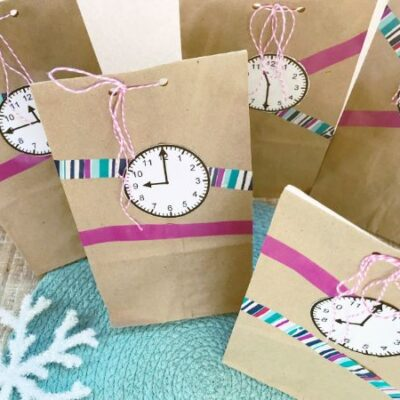 New Year Countdown Activity for Kids