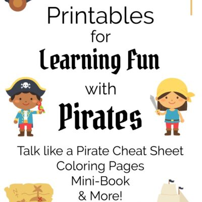 printable pirate learning activities