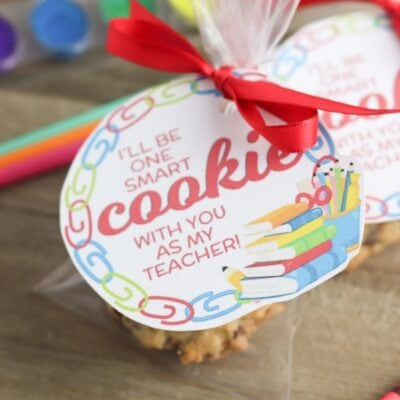 one smart cookie teacher gift tag